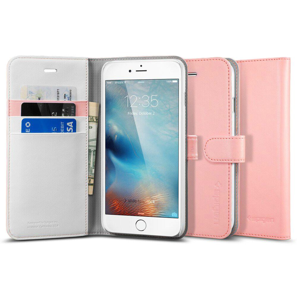 Чехол Spigen Wallet S Pink для iPhone 6 Plus/6s Plus