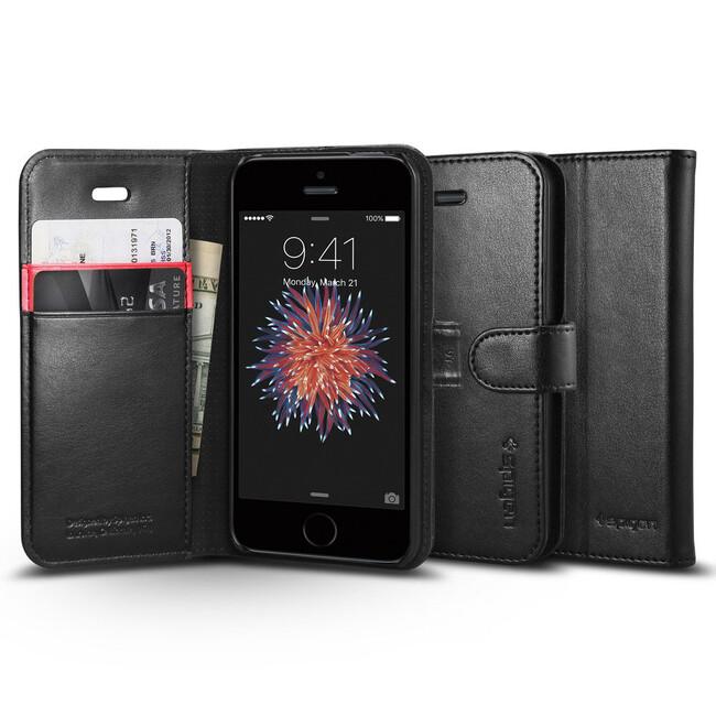 Чехол Spigen Wallet S для iPhone SE/5S/5