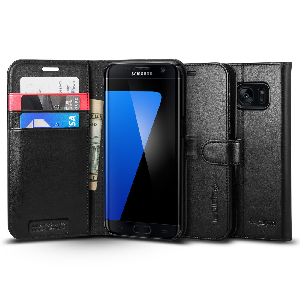 Чехол Spigen Wallet S для Samsung Galaxy S7 edge