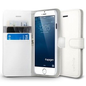 Купить Чехол Spigen Wallet S White для iPhone 6/6s