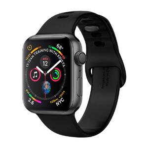Купить Силиконовый ремешок Spigen Air Fit Black для Apple Watch 40mm Series 5/4