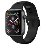Силиконовый ремешок Spigen Air Fit Black для Apple Watch 44mm Series 5/4/3/2/1