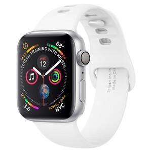 Купить Силиконовый ремешок Spigen Air Fit White для Apple Watch 44mm Series 5/4
