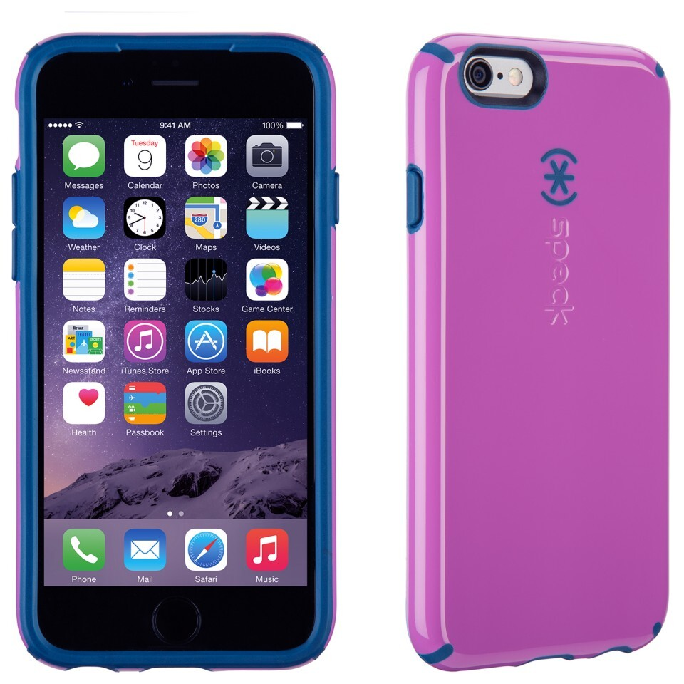 Чехол Speck CandyShell Beaming Orchid Purple/Deep Sea Blue для iPhone 6/6s