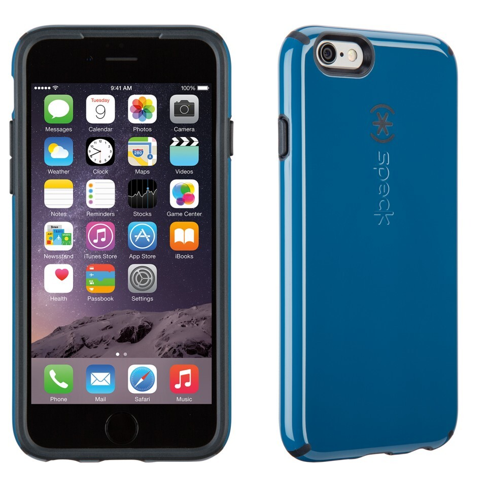 Чехол Speck CandyShell Tahoe Blue/Charcoal Grey для iPhone 6/6s