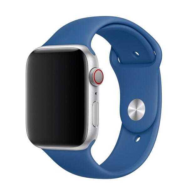Ремешок iLoungeMax Sport Band 38mm | 40mm Delft Blue для Apple Watch SE | 6 | 5 | 4 | 3 | 2 | 1 OEM