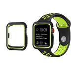 Ремешок + чехол Sport Band Black/Volt для Apple Watch 42mm Series 1/2/3