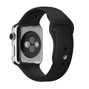 Купить Ремешок Apple 38mm Black Sport Band (MJ4G2) для Apple Watch