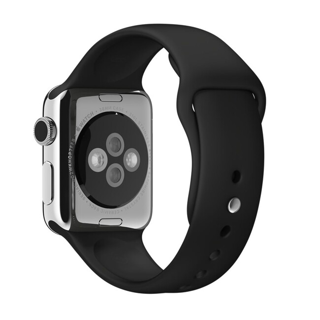 Ремешок Apple 38mm Black Sport Band (MJ4G2) для Apple Watch