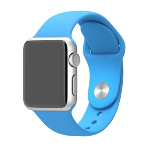 Купить Ремешок Apple 38mm Blue Sport Band (MLDA2) S/M&M/L для Apple Watch Series 1/2/3