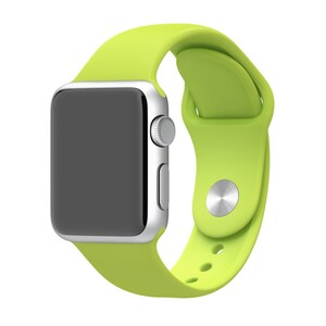 Купить Ремешок Apple 38mm Green Sport Band (MJ4L2) S/M&M/L для Apple Watch Series 1/2/3