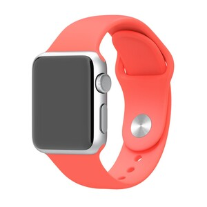 Купить Ремешок Apple 38mm Pink Sport Band (MJ4K2) S/M&M/L для Apple Watch Series 1/2