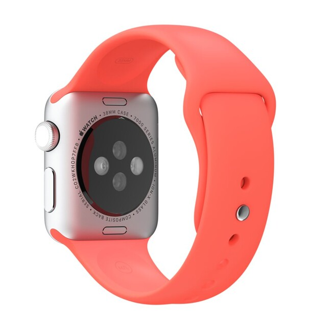 Ремешок Apple 38mm Pink Sport Band (MJ4K2) для Apple Watch