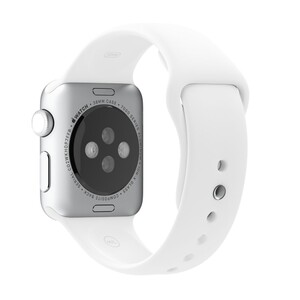 Купить Ремешок Apple 38mm White Sport Band (MJ4E2) для Apple Watch Series 1/2