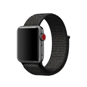 Купить Ремешок Apple Sport Loop Black (MQVX2) для Apple Watch 38mm Series 1/2/3