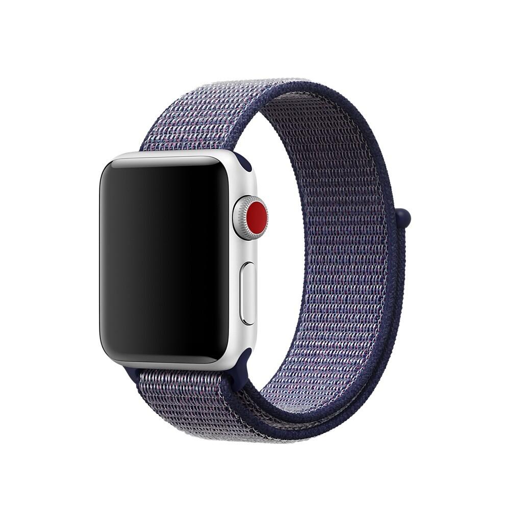 Ремешок oneLounge Sport Loop Midnight Blue для Apple Watch 40mm | 38mm SE | 6 | 5 | 4 | 3 | 2 | 1 OEM
