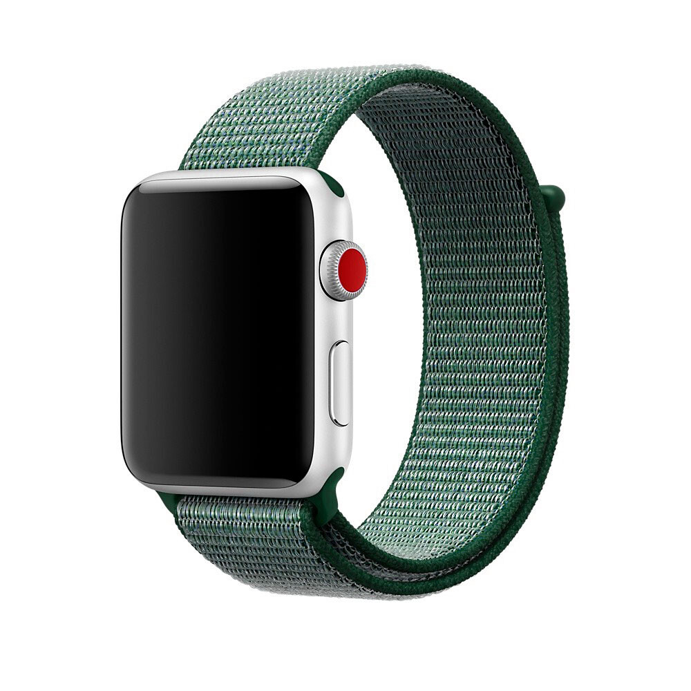 Ремешок oneLounge Sport Loop Army Green для Apple Watch 42mm | 44mm SE | 6 | 5 | 4 | 3 | 2 | 1 OEM