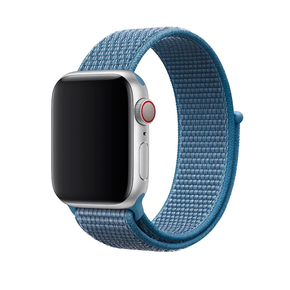 Ремешок oneLounge Sport Loop Cape Cod Blue для Apple Watch 42mm/44mm Series 1/2/3/4 (Лучшая копия Apple)