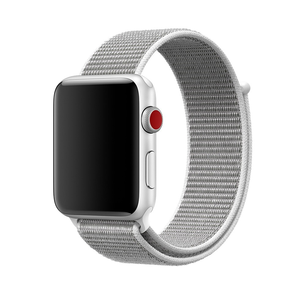Ремешок iLoungeMax Sport Loop Seashell для Apple Watch 42mm | 44mm SE | 6 | 5 | 4 | 3 | 2 | 1 OEM
