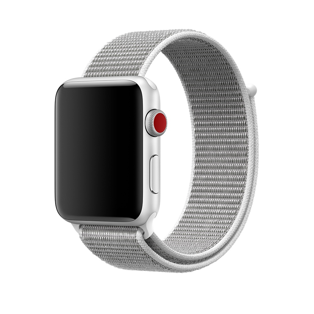 Купить Ремешок oneLounge Sport Loop Seashell для Apple Watch 42mm | 44mm SE | 6 | 5 | 4 | 3 | 2 | 1 OEM