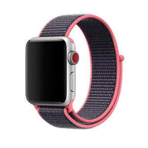 Купить Ремешок Sport Loop OEM Spicy Pink для Apple Watch 42mm Series 1/2/3