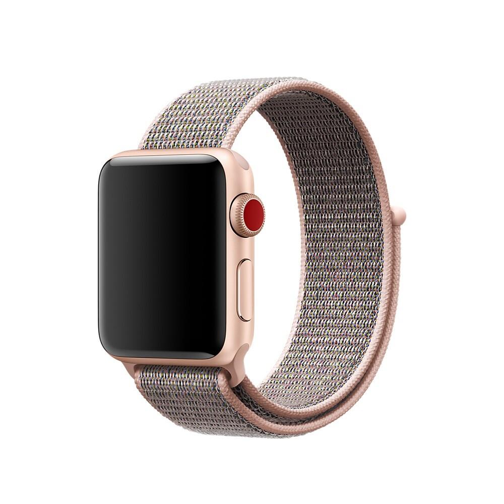 Ремешок oneLounge Sport Loop Spicy Pink Sand для Apple Watch 40mm | 38mm SE | 6 | 5 | 4 | 3 | 2 | 1 OEM