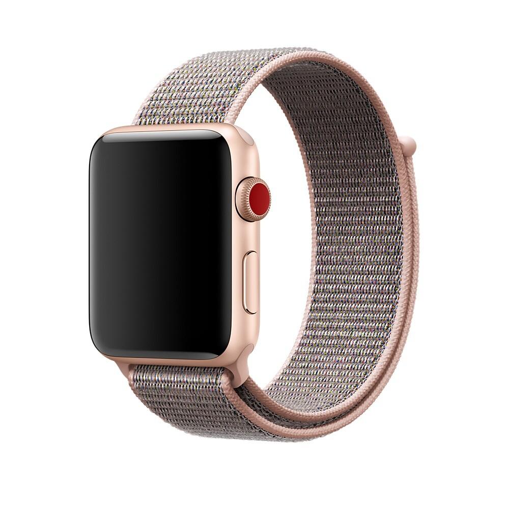 Ремешок iLoungeMax Sport Loop Spicy Pink Sand для Apple Watch 42mm | 44mm SE | 6 | 5 | 4 | 3 | 2 | 1 OEM