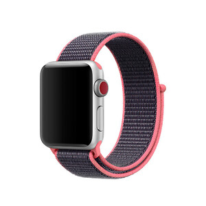 Купить Ремешок Sport Loop OEM Spicy Pink для Apple Watch 38mm Series 1/2/3