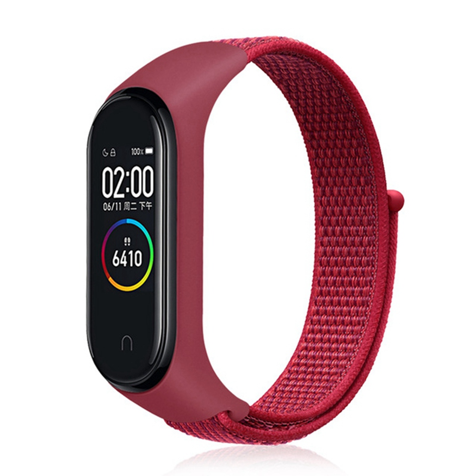 Купить Ремешок oneLounge Sport Loop Pomegranate для Xiaomi Mi Band 3 | 4