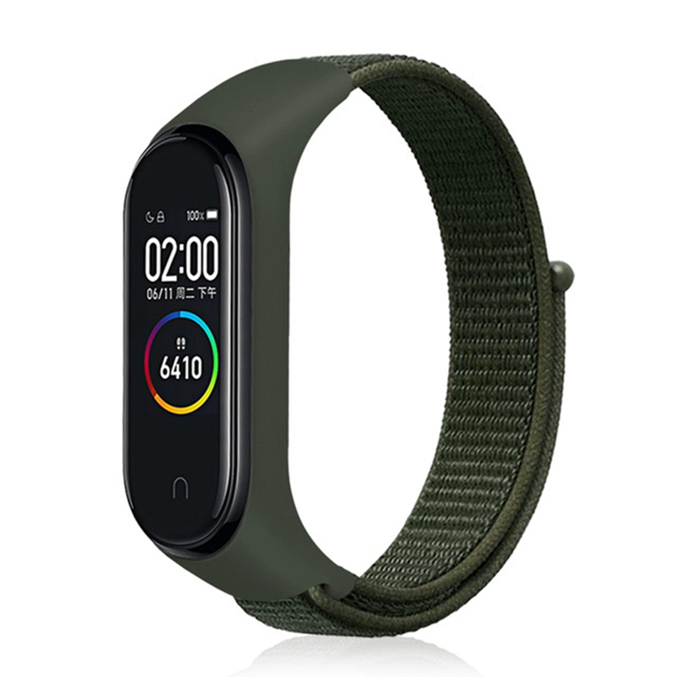 Купить Ремешок oneLounge Sport Loop Forest Green для Xiaomi Mi Band 3 | 4