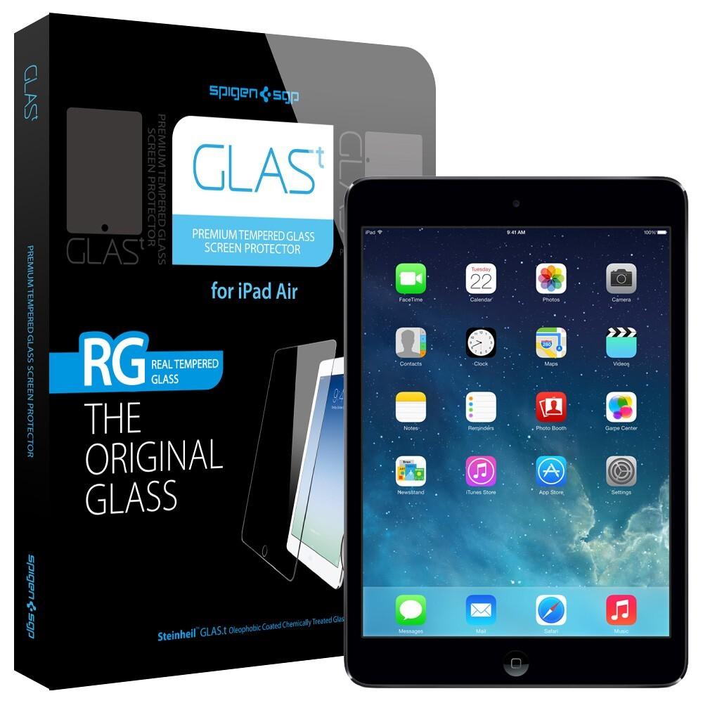 Защитное стекло Spigen SGP GLAS.t для iPad Air