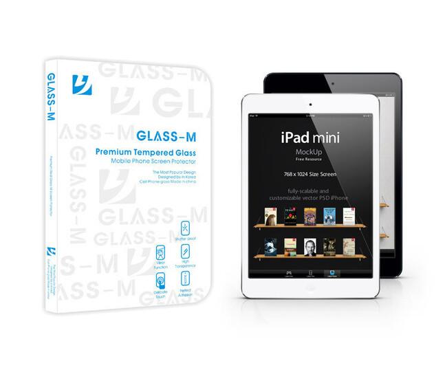 Защитное стекло GLASS-M 0.33mm для iPad Mini 1/2/3/4