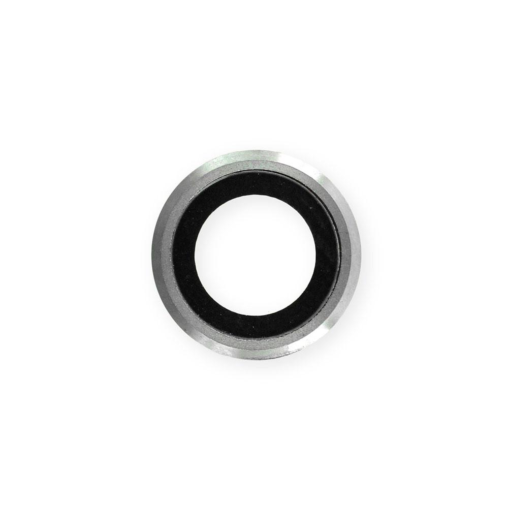 Купить Стекло камеры + рамка (Silver) для iPhone 6 | 6s