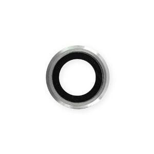 Купить Стекло камеры + рамка (Silver) для iPhone 6   6s