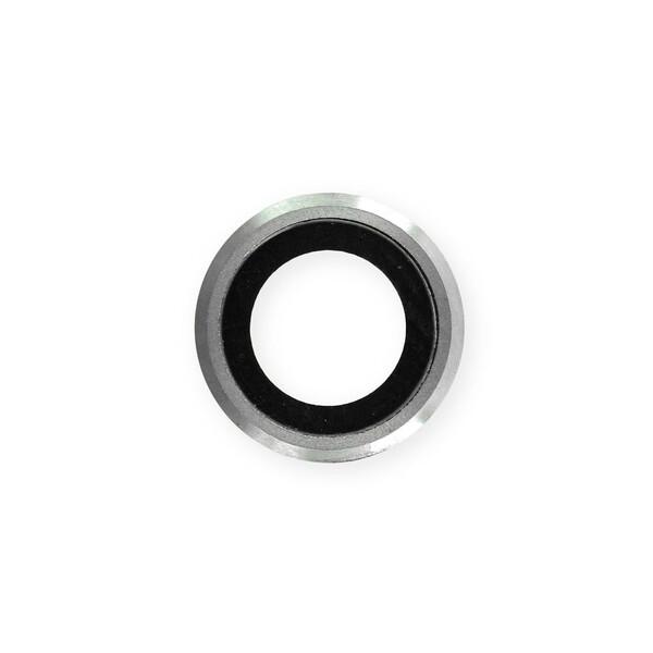 Стекло камеры + рамка (Silver) для iPhone 6   6s