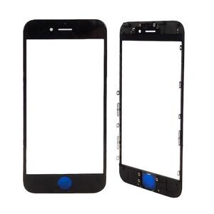 Купить Стекло с рамкой и ОСА пленкой (Black) для iPhone 7