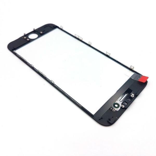 Стекло с рамкой и ОСА пленкой (Black) для iPhone 6s