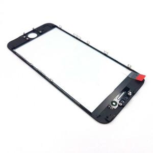 Купить Стекло с рамкой и ОСА пленкой (Black) для iPhone 6s Plus
