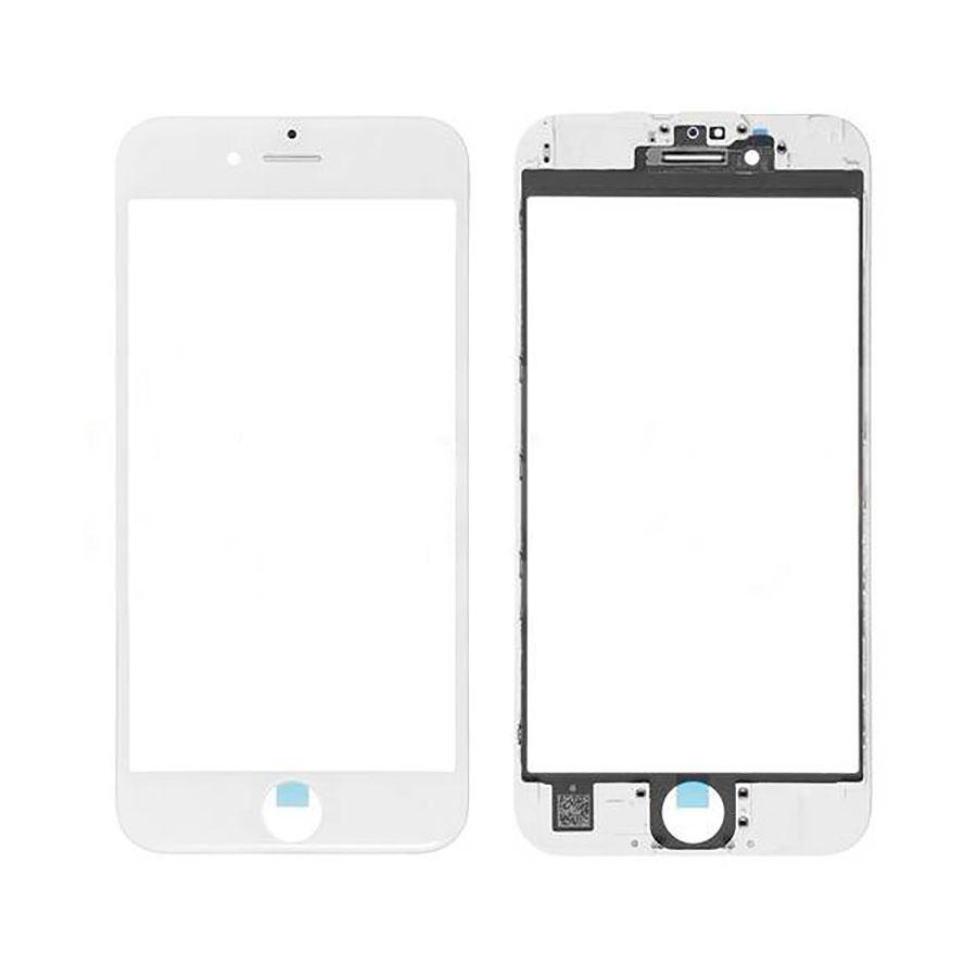 Купить Стекло с рамкой и ОСА пленкой (White) для iPhone 7