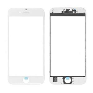 Купить Стекло с рамкой и ОСА пленкой (White) для iPhone 6 Plus
