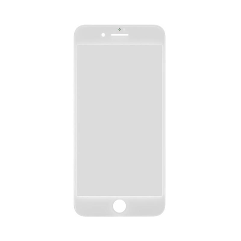 Купить Стекло с рамкой и ОСА пленкой (White) для iPhone 8