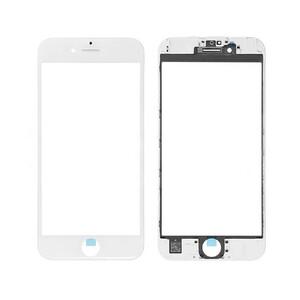 Купить Стекло с рамкой и ОСА пленкой (White) для iPhone SE 2 (2020)