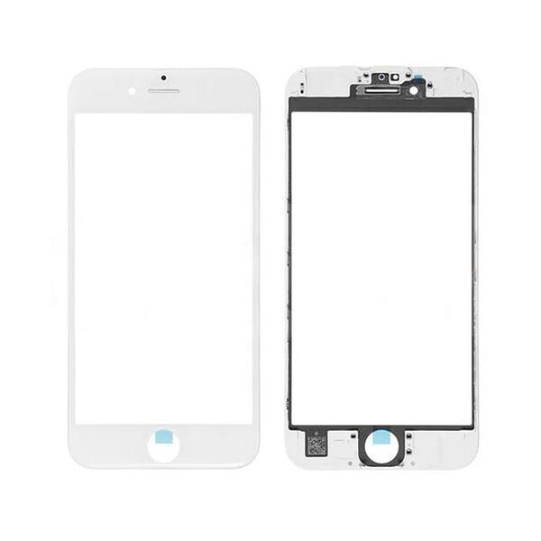 Стекло с рамкой и ОСА пленкой (White) для iPhone SE 2 (2020)