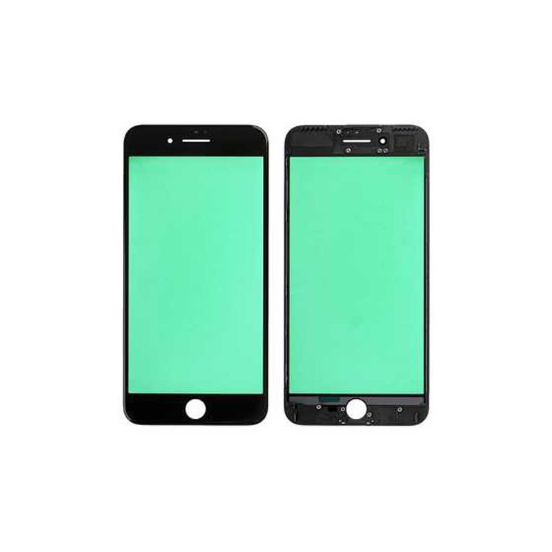 Купить Стекло с рамкой (Black) для iPhone 7 Plus