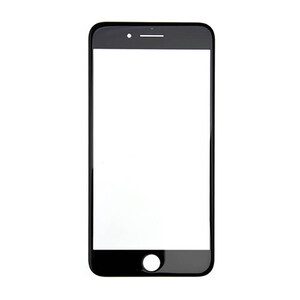 Купить Стекло дисплея с рамкой (Black) для iPhone 8