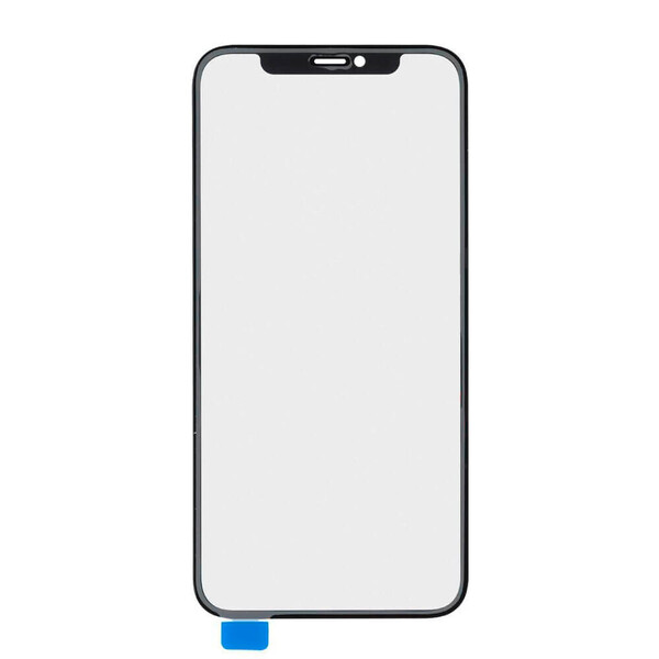 Стекло с рамкой+ОСА пленка для iPhone 12 mini