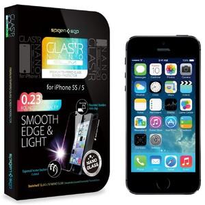 Купить Защитное стекло SGP GLAS.tR NANO SLIM для iPhone 5/5S/SE/5C