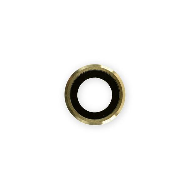 Стекло задней камеры (Gold) для iPhone 6 Plus