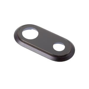 Купить Стекло задней камеры + рамка (Black) для iPhone 8 Plus