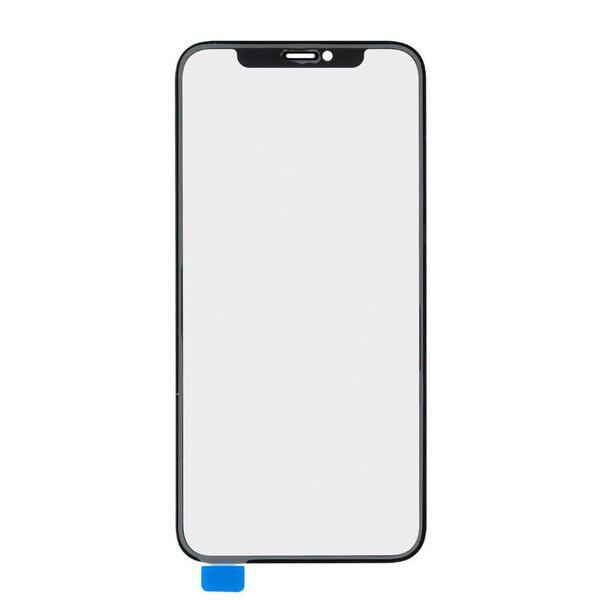 Стекло с рамкой+ОСА пленка для iPhone 11 Pro